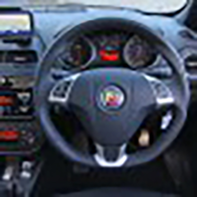 Abarth Punto - Steering Wheel