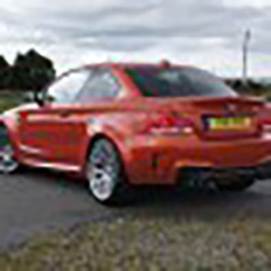 BMW 1M Coupé - Rear