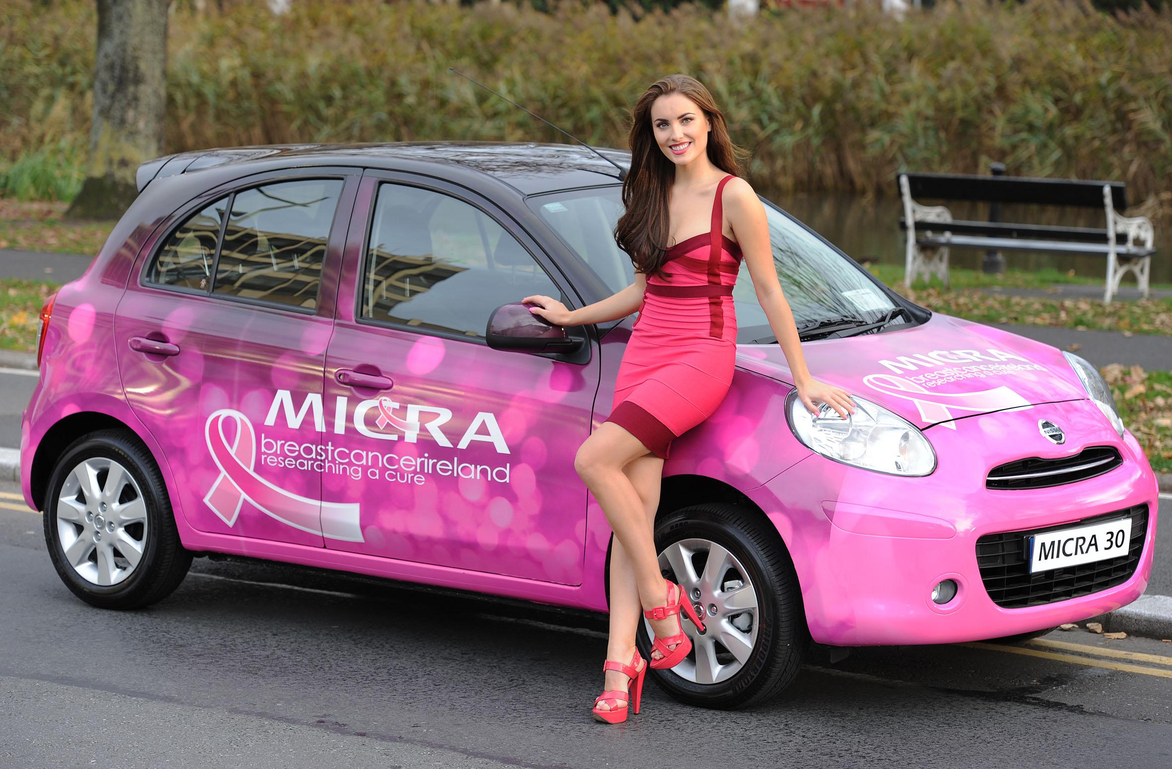 Nissan Micra Pink Week Rev Ie