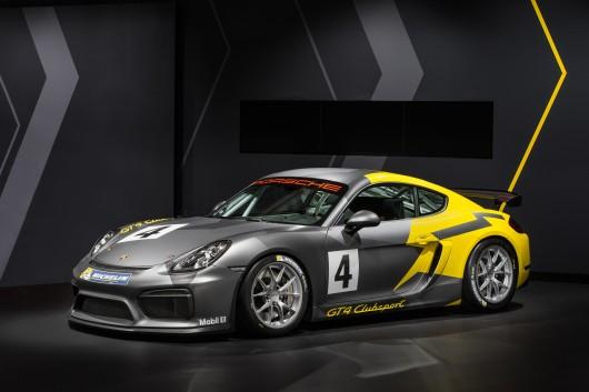Porsche Cayman GT4-1