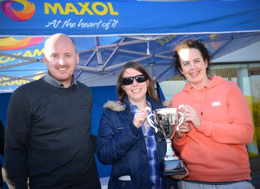 Fergal Harrington, Maxol. Laura keane and Claire Collins, Hyundai i40
