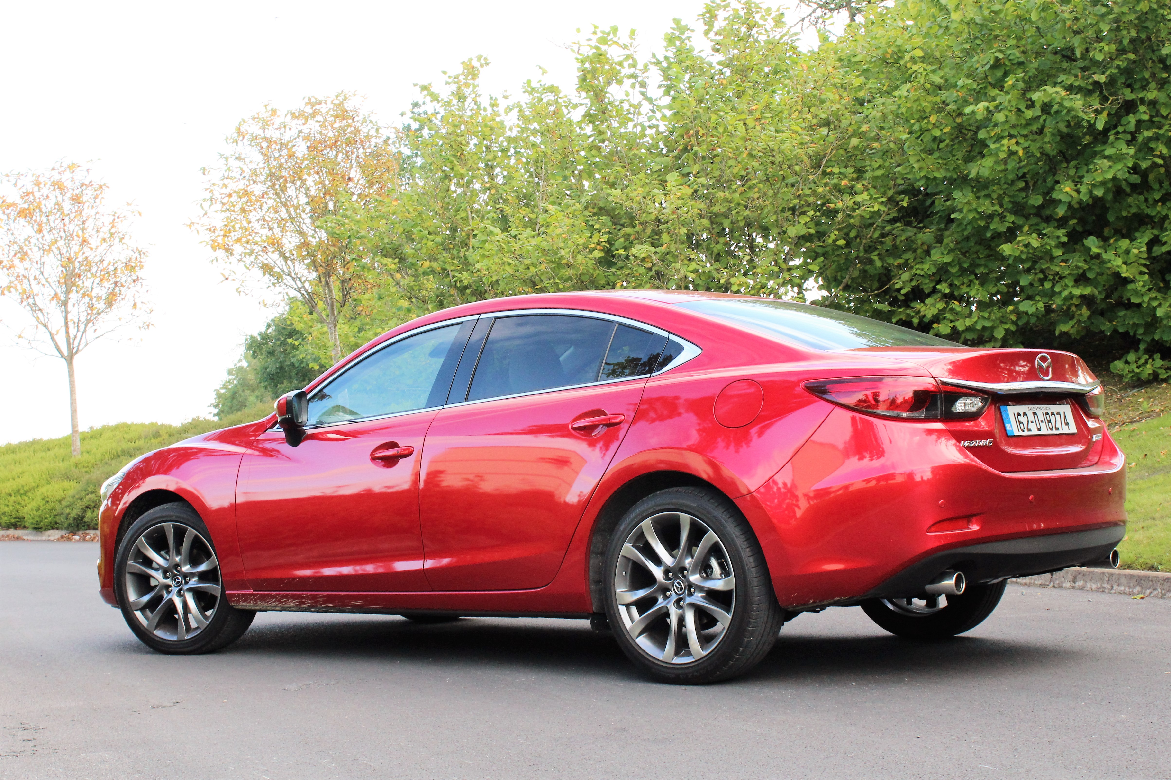 ... To Test The Mazda6 In Manual Transmission The Automatic Gearbox Proved  To Be Almost Flawless Whilst It Was Mated With The 2.2 Litre Turbo Diesel  Engine ...