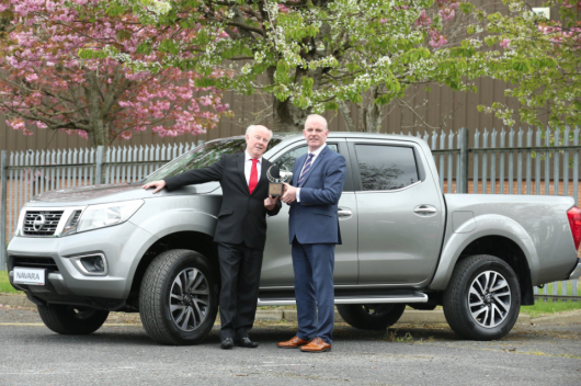 bb3074590f2ec0 In the operate Pick Up category the Nissan Navara was named as Irish Pick  Up of the Year 2017 in association with Continental Tyres.