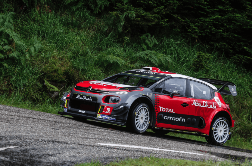 ireland s meeke breen lead citro n racing for wrc 2018. Black Bedroom Furniture Sets. Home Design Ideas