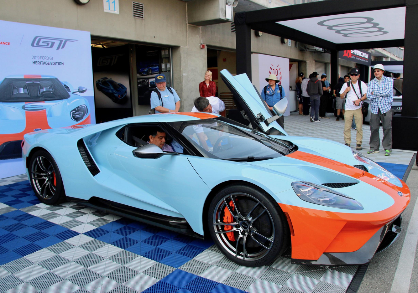 Gulf Is Extremely Proud In  To Be Celebrating The Th Anniversary Of Its First Le Mans Win With The Legendary Ford Gt And As A Fitting Climax To