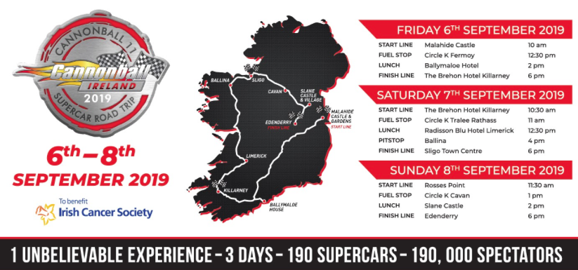 Final Countdown To Cannonball Underway | Rev ie